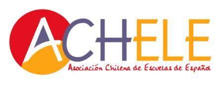 Logo of the chilean association of Spanish schools
