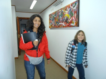 Accommosation in hostel during the spanish course- emalafquen double room