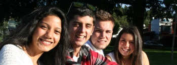 Group of students in Spanish course